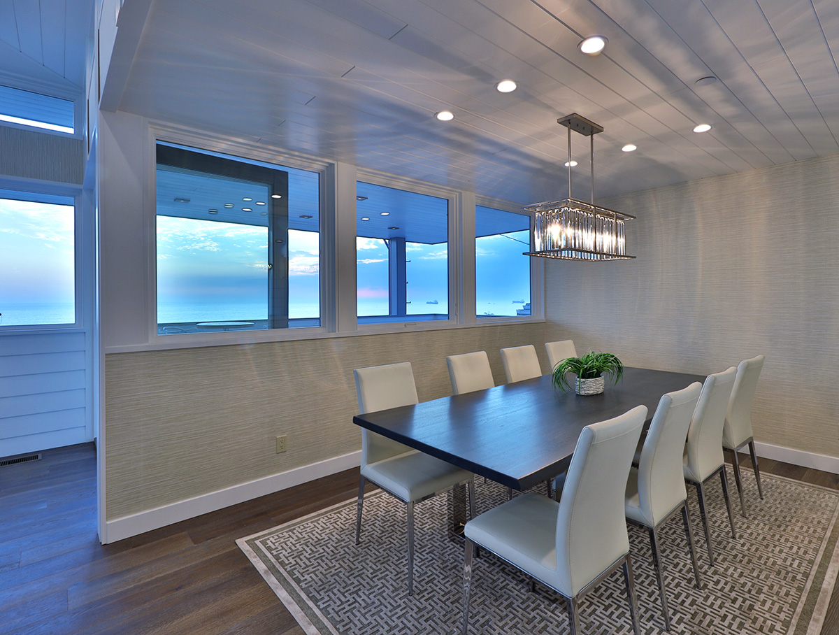 This brand new coastal contemporary home from